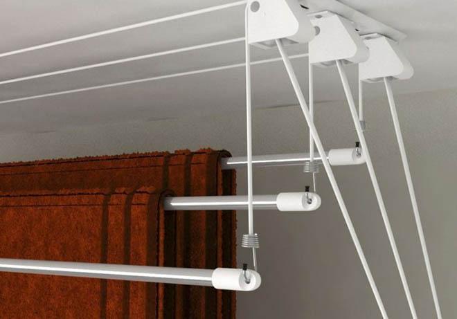 балконная потолочная сушилка