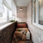 Фото 1 обустройство спального места на балконе или лоджии