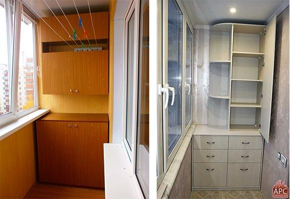 балконный шкафы
