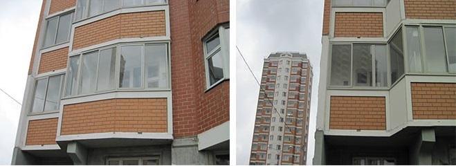 балкон и лоджия серии п44т