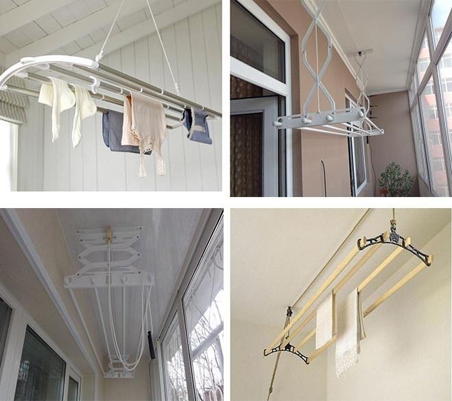 подвесные сушилки на балкон