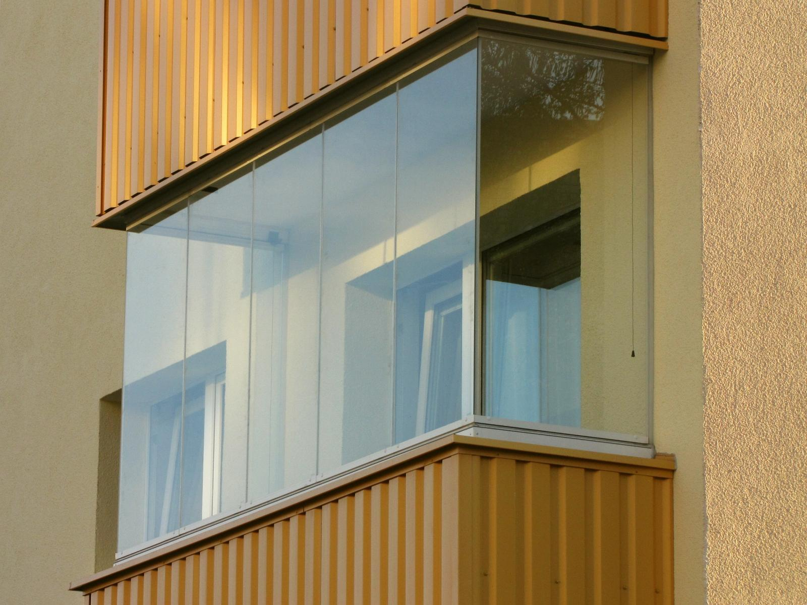 безрамный балкон