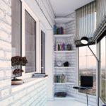 Фото 8 Идеи дизайна лоджии и балкона с панорамным остеклением
