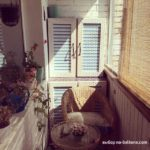 фото 3 текстиль в дизайне балкона