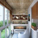 Фото 15 оформление красивого и уютного балкона или лоджии: топ-110 идей