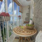 Фото 6 оформление красивого и уютного балкона или лоджии: топ-110 идей