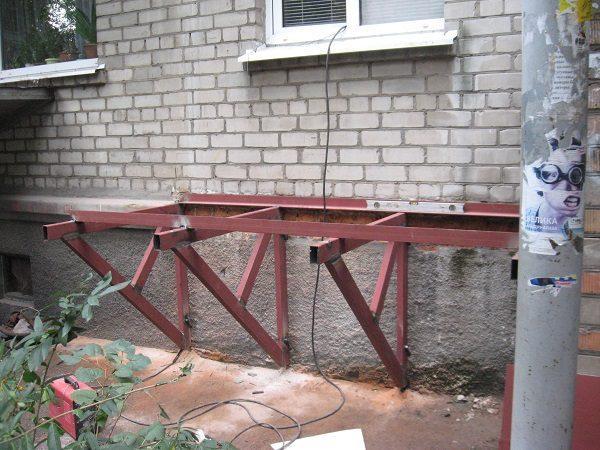 опоры под плиту для балкона
