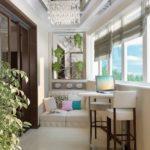 Фото 11 оформление красивого и уютного балкона или лоджии: топ-110 идей