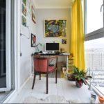 Фото 2 обустройство кабинета на балконе или лоджии
