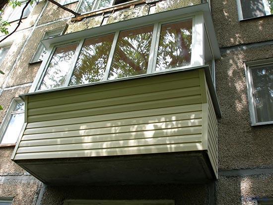 выносной балкон в хрущевке