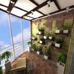 Фото 12 оформление красивого и уютного балкона или лоджии: топ-110 идей