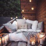спальня на балконной даче
