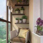 Фото 1 Идеи дизайна лоджии и балкона с панорамным остеклением