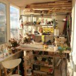 Фото 3 пошаговое обустройство мастерской на балконе или лоджии