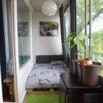Фото 3 обустройство спального места на балконе или лоджии
