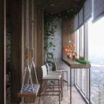Фото 2 барная стойка на балконе или лоджии