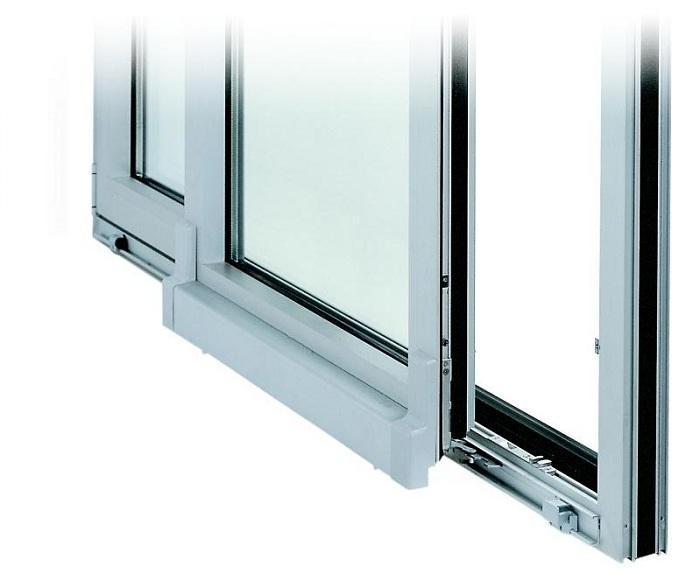 Параллельно-сдвижной механизм открывания окна
