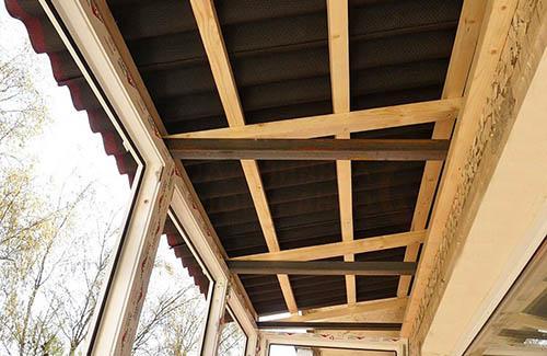 Деревянные каркасы для крыши