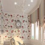 дизайн занавесок для балкона