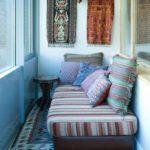 Фото 4 обустройство спального места на балконе или лоджии