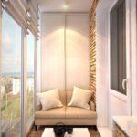 Фото 6 Идеи дизайна лоджии и балкона с панорамным остеклением