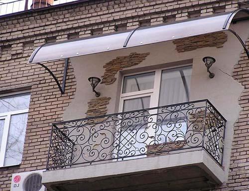 балконный козырек