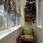 фото 2 текстиль в дизайне балкона