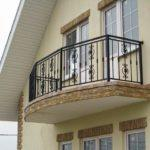 Фото 6 Виды и стили кованых балконов: топ-55 фото оригинальных идей