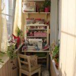 Фото 2 пошаговое обустройство мастерской на балконе или лоджии