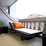 раскладная кровать на балконе