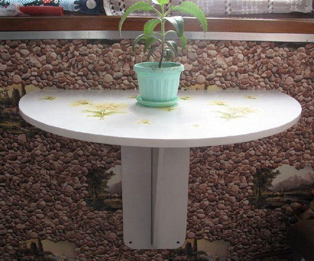 столик с подпоркой
