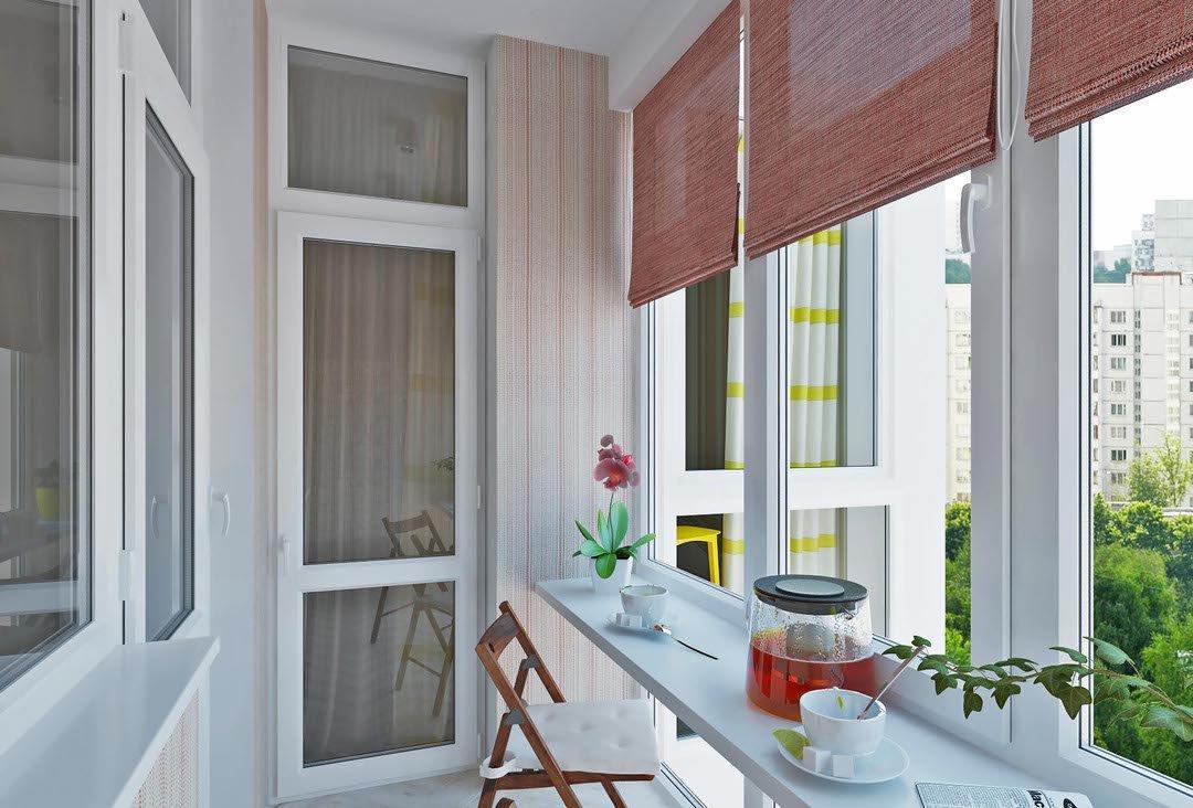 дизайн балкона п-3