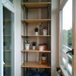 Фото 33 выбор материала и монтаж стеллажа на балкон своими руками
