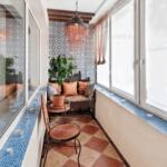 фото 4 текстиль в дизайне балкона