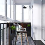 Фото 27 барная стойка на балконе или лоджии