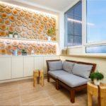 Фото 64 оформление красивого и уютного балкона или лоджии: топ-110 идей