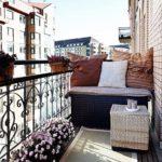 фото 5 дизайн открытого балкона