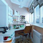 Фото 15 пошаговое обустройство мастерской на балконе или лоджии