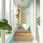 Фото 6 обустройство спального места на балконе или лоджии