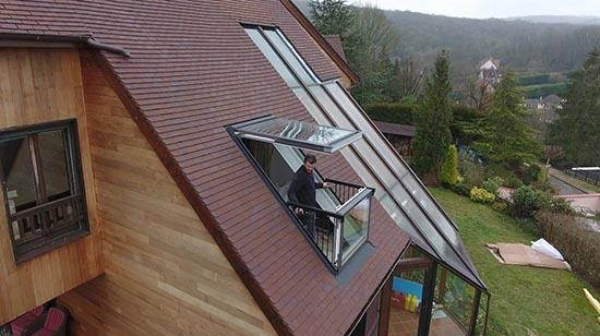 встроенный балкон