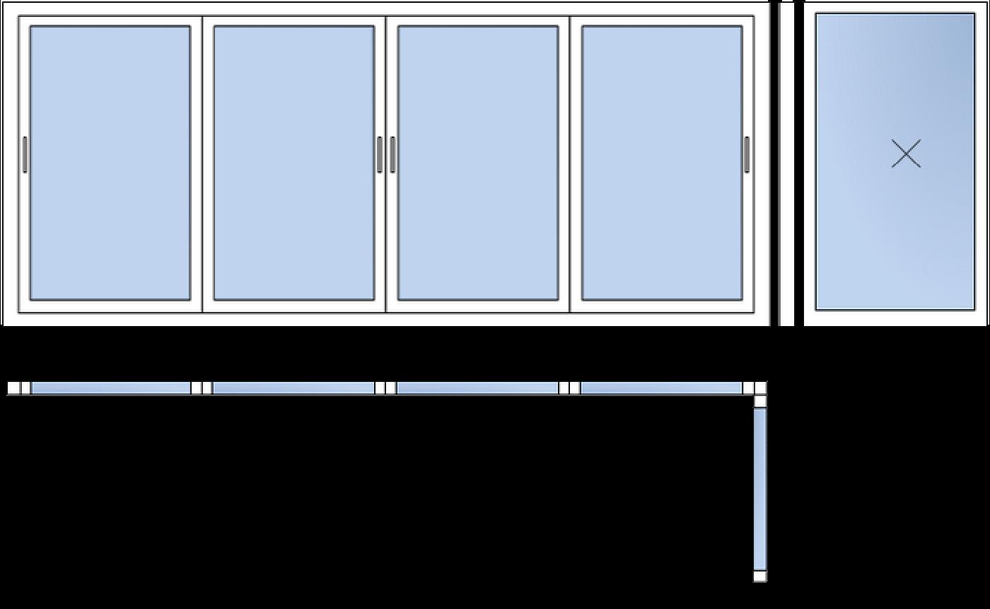 г-образный балкон