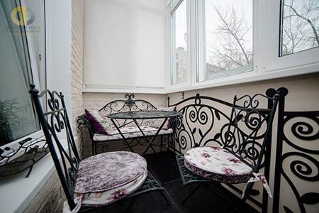 Виды и особенности мебели для балкона или лоджии