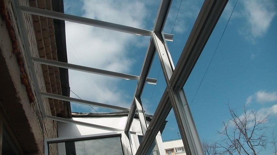 металлические каркасы для крыши