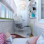 Фото 18 оформление красивого и уютного балкона или лоджии: топ-110 идей