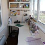 Фото 4 пошаговое обустройство мастерской на балконе или лоджии