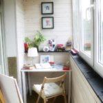 дизайн комнаты на балконе