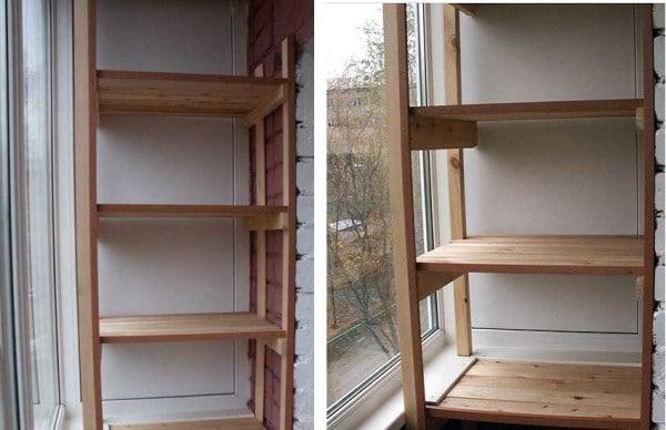 каркас стационарной теплицы для балкона