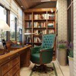 Фото 10 обустройство кабинета на балконе или лоджии