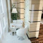 Фото 10 Идеи дизайна лоджии и балкона с панорамным остеклением