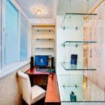 Фото 12 обустройство кабинета на балконе или лоджии